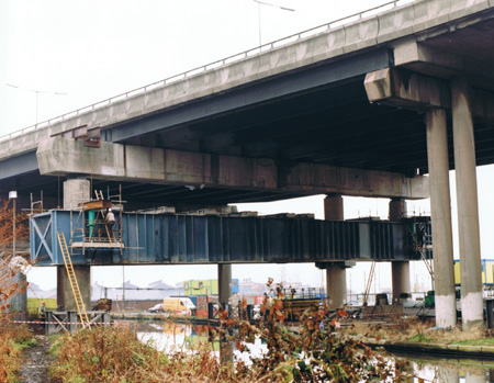 R53 – involving the installation of a 125te Plate Girder system